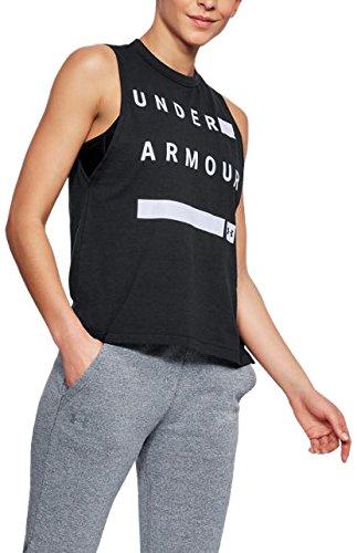 Under Armour Women's Muscle Linear Wordmark Tank