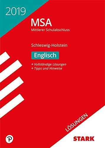 Lösungen zu Original-Prüfungen und Training MSA - Englisch - Schleswig-Holstein