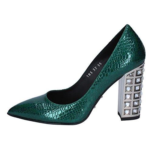 ROBERTO BOTTICELLI Zapatos salón Mujer Cuero Verde