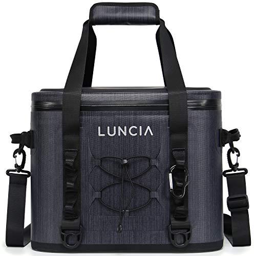 LUNCIA Kühltasche Kühlbox Isoliert Wasserdicht Cooler für Sport Camping Ausflug Strand Picknick, 20L