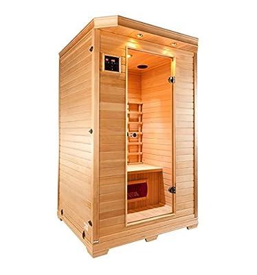 Sauna Infrarot stark–2Sitzer von GW auf Du und dein Garten
