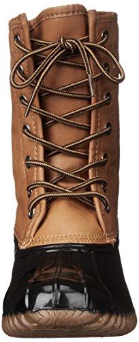 Madden Girl Flurryy Winter Boot Natural Multi