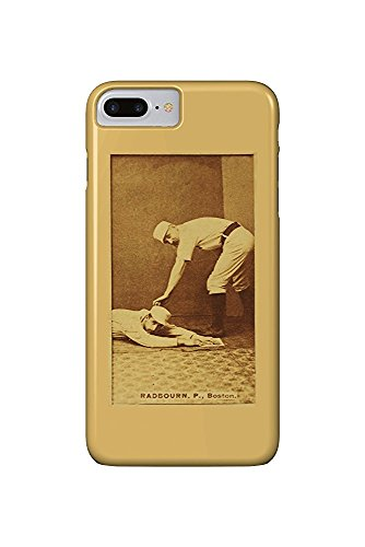 Boston Beaneaters - Old Hoss Radbourn - Baseball Card (iPhone 7 Plus Cell Phone Case, Slim Barely There) -