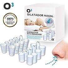 O³ Dilatador Nasal - 8 Antironquidos Nasal - 100% sin BPA - Remedio contra el