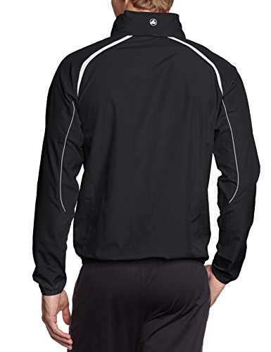 JAKO, Maglietta impermeabile Uomo Champion Multicolore (schwarz/weiß/grau)