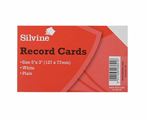 silvine-rolodex-refill-tarjetas-lisa-5-x-3-unidades-1000-blanco-color-blanco