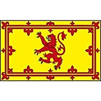Flag 5ft X 3ft Scottish Lion for Party Decoration SCOTLAND ST ANDREWS Flags for Patriotic National themed Party Decorations BBQ's Sport Events by Just For