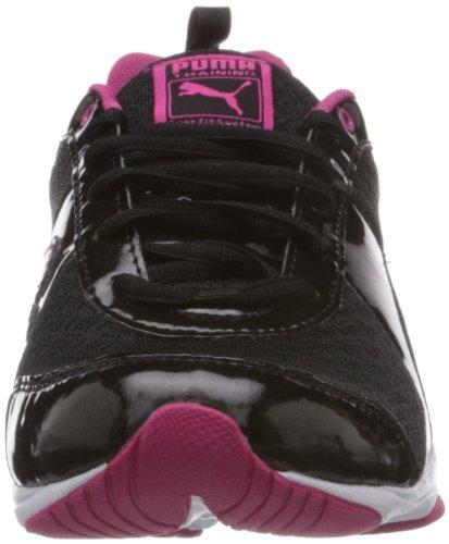 Puma - Flextrainer Nm Wn's, Scarpe sportive outdoor Donna Nero (Schwarz (black-beetroot purple 01))