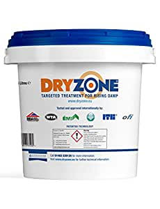 Dryzone 5L Damp Proofing DPC Injection Cream - Rising Damp Treatment