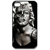 Iphone 4 / 4s hülle Marylin skull face