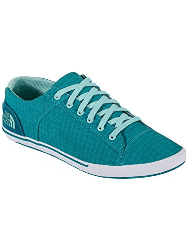 The North Face Base Camp Lite Sneaker Women Größe UK 4,5 jaiden green- beach glass green (Green Face Womens)