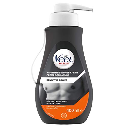 Veet Men Haarentfernungscreme Sensitive,400 ml