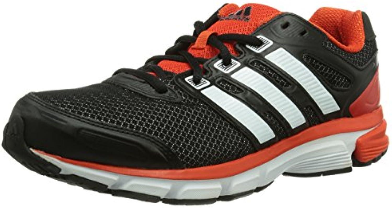 Adidas Nova Stability Scarpe Da Corsa, MultiColoreeee (Mehrfarbig (nero 1 1 1   Running bianca   Dark arancia)), 45 1 ... | Benvenuto  10f836