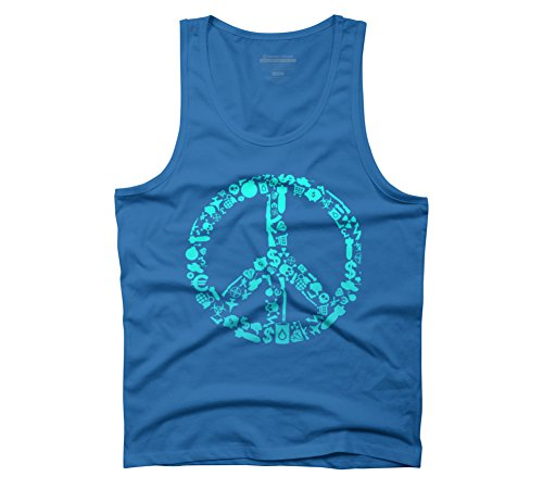 War Is Peace Men's Graphic Tank Top - Design By Humans