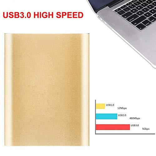 liuxi9836 Externe Festplatte, USB 3.0 SATA3.0 Hochgeschwindigkeits-6-Gbit/s-500G 1 TB-Übertragungsfestkörper-HDD-tragbare Mobile Hochgeschwindigkeitsfestplatte (2,5 Zoll)