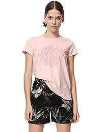 Ropa es Tops Camisetas Camisetas Desigual Blusas Xs Amazon Y Bqdw8aw
