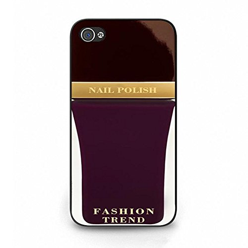 Iphone 4/4s Case,Premium Design Cosmetic Nail Polish Phone Case Cover for Iphone 4/4s Nail Polish Shell Cover Color103d