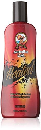 Australian Gold Heated 250 ml Solariumkosmetik Tingle T4 Bronzing Lotion