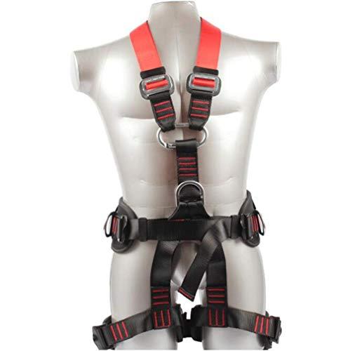 Conjunto de protección contra caídas Cinturón de Seguridad de Trabajo aéreo Cuerpo Escalada al Aire Libre Cinturón de Senderismo Equipo de Rescate contra Incendios Seguro Conjunto de Cuerda