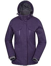 Mountain Warehouse Veste de Ski Femme Imperméable Intérieur Tricot Sports Hiver Brevis -40°C