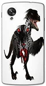 Timpax protective Armor Hard Bumper Back Case Cover. Multicolor printed on 3 Dimensional case with latest & finest graphic design art. Compatible with Google Nexus-5 Design No : TDZ-28129