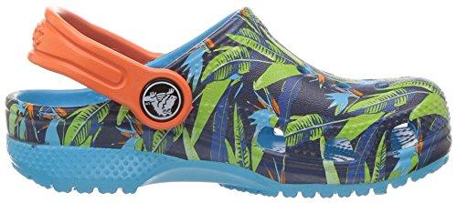 Crocs Clsctropicclgk, Zoccoli Unisex – Bambini Multicolore (Tropical)