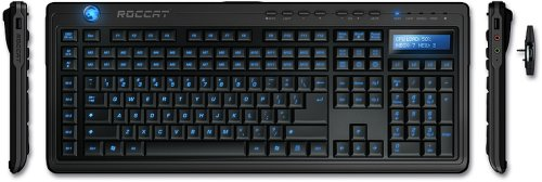 Profil Audio (Roccat Valo Gaming Keyboard USB mit 2MB Profil-Speicher, Audio I/O, Media Keys und Info-Display)