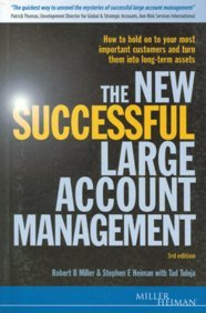 The New Successful Large Account Management (3rd Edn) [Paperback] par KOGAN PAGE LIMITED EPZ/SPECIAL PRICED TITLES
