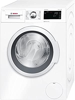 Bosch Serie 6 WAT28660EE Independiente Carga frontal 8kg 1400RPM A+++-30% Color blanco - Lavadora (Independiente, Carga frontal, A+++-30%, A, B, Color blanco)
