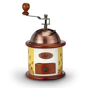 Moulin à café en bois avec broyeur céramique