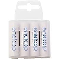 Eneloop Batteria ricaricabile R03 AAA min. 750mAh box 4 Batterie (R6 AA min. 1900mAh box)