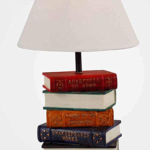 Lampe Bücher