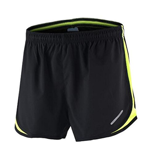 Men Outdoor Running Shorts green