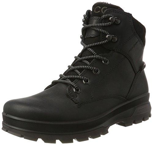 Herren Rugged Casual Boot (Ecco Herren RUGGED TRACK_838044 Outdoor Fitnessschuhe, Schwarz (BLACK/BLACK51052), 42 EU)