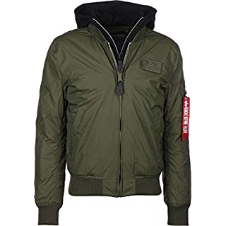 Alpha Industries MA-1 D-Tec BN W Winterjacke Dark Green