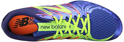 New Balance MD500v4 Middle Distance Course à Pied à Pique Blue / Yellow