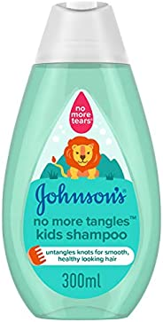 JOHNSON'S Kids Shampoo - No More Tangles, 300ml