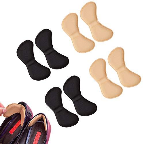 EQLEF® 4 pares talón de las plantillas del zapato evitar rozaduras talón de los zapatos de tacón engomadas de Ajustes de la longitud del zapato del tacón Zapatos de ratones