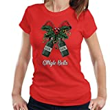 Gingle Bells Christmas Bow Women's T-Shirt