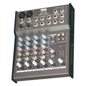 Definitive Audio MX 202 Console de mixage Noir