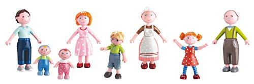 Haba Biegepuppen Little Friends Familie Spar-Paket by Little Friends