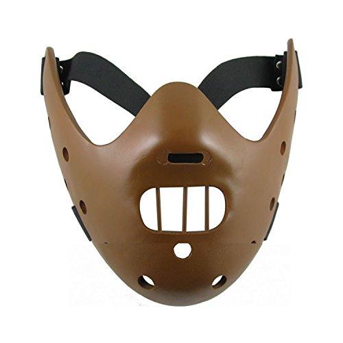Schweigen der Lämmer Hannibal Cosplay Maske Braun (Maske Hannibal)