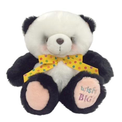 "10 ""Friends Forever Panda avec ruban"