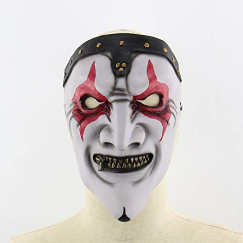 Zipper Mund-Maske Halloween Horror Scary Haunted House Set Weihnachts Mask