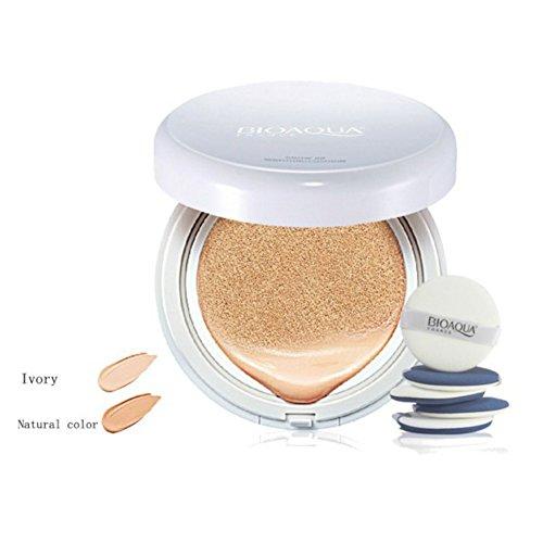 Unisky Flawless Cushion BB & CC Creams Makeup Powder Moisturizing Concealer Makeup Bare Isolation