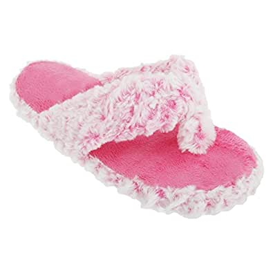 Chaussons style tongs - Femme (40 EUR) (Rose)