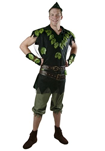 Plus Size Peter Pan Fancy dress costume (Pan Peter Kostüme Size Plus)