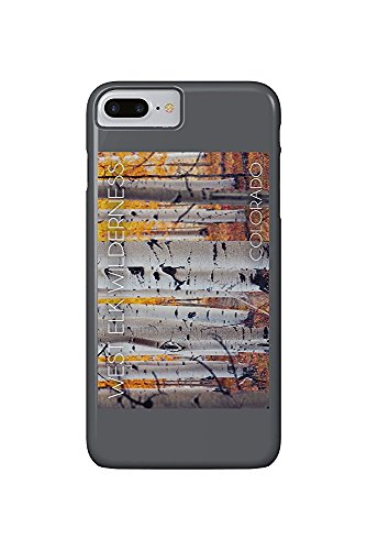 West Elk Wilderness, Colorado - Aspen Forest (iPhone 7 Plus Cell Phone Case, Slim Barely There) -