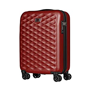 Wenger Lumen 20″ Hardside Luggage Global Carry-On – Rojo Maleta, 54 cm, 32 Liters