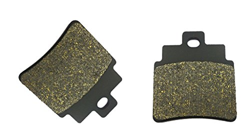 trasero Brake Pad Semi-met for KYMCO ATV MXU250 MXU 250 04 05 06 07 08 09 2004 2005 2006 2007 2008 2009 1 Pair(2 Pads)
